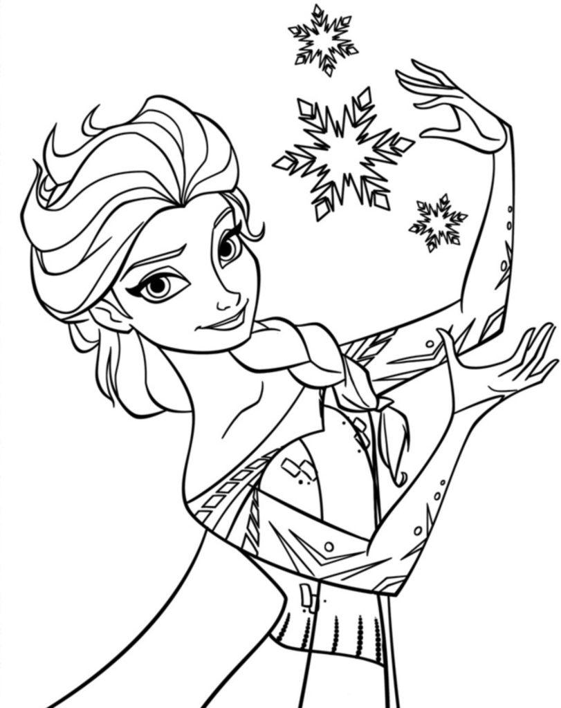 Desenhos Para Colorir Frozen Portal Escola Ensina