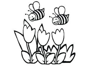 como desenhar abelha
