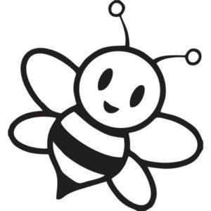 desenho abelha para imprimir