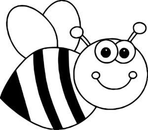 desenho para imprimir abelha