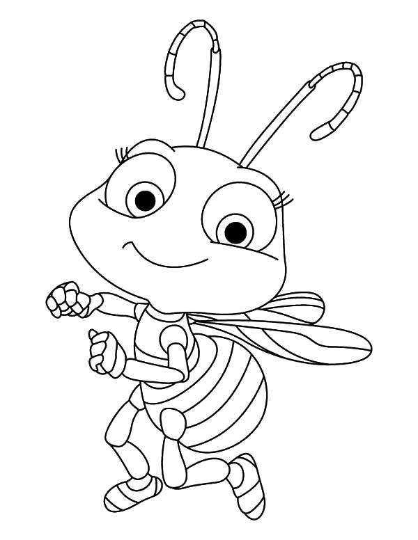 imagem abelha para pintar