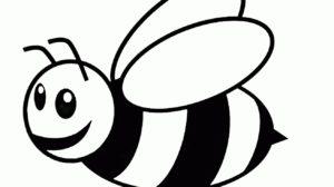 imagem de abelha para colorir e imprimir